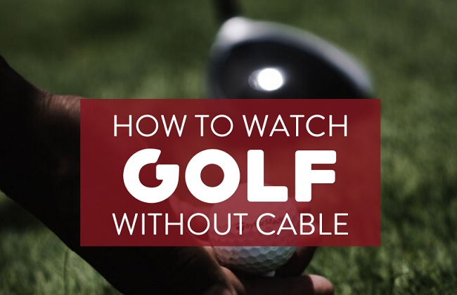 PGA golf streaming without cable